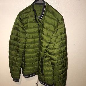New with tags! Zara green/gray jacket